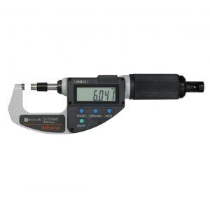 "Mitutoyo 227-215-20 Digimatic Absolute Adjustable Force Quickmike Micrometer 0-10mm (0-0.4"")"