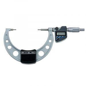 "Mitutoyo 331-354-30 Digimatic Spline IP65 Micrometer 75-100mm (3-4"") SPC Data Output"