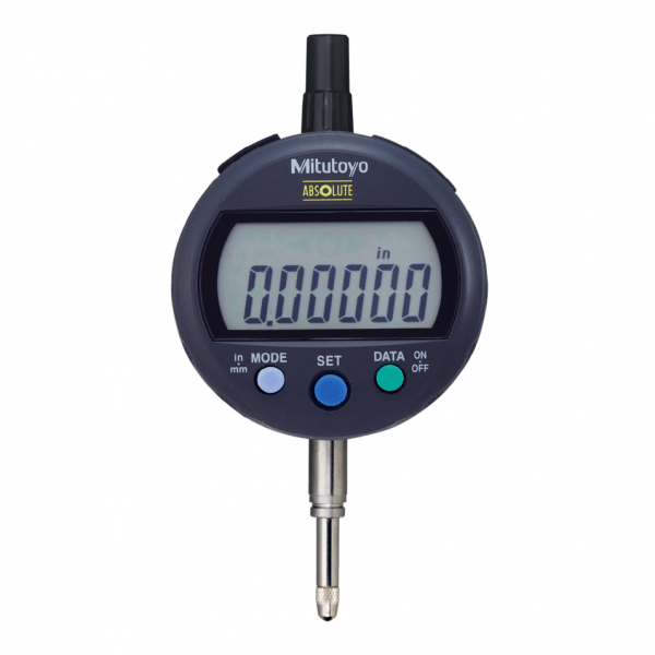 Mitutoyo 543-391B Digital Indicator ID-C Inch/Metric, 12.7mm, 0.001mm, Flat Back