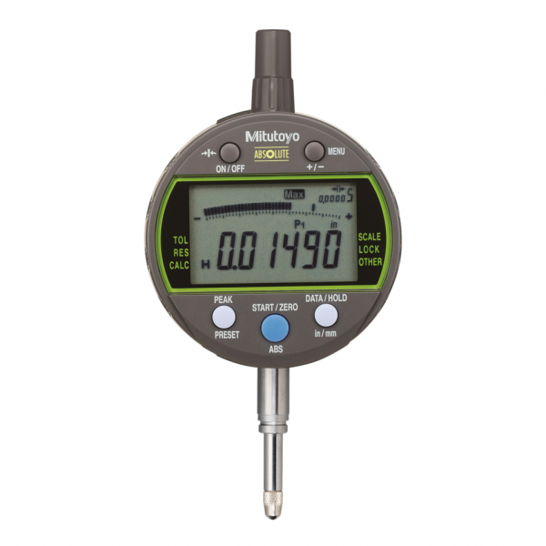 "Mitutoyo 543-301B ABSOLUTE 0.001mm Digimatic Peak Valve Hold Indicator ID-C 12.7mm (0.5"")"