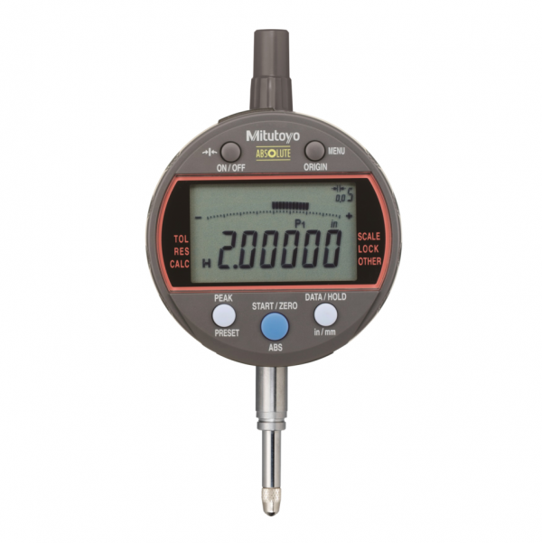 """Mitutoyo 543-341B ABSOLUTE 0.0002-1mm Digimatic Calculating Indicator ID-C 12.7mm (0.5"""")"""
