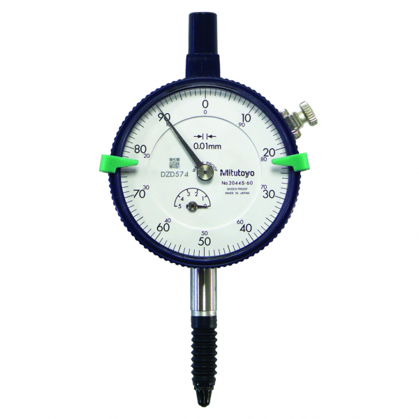 Mitutoyo 2044S-60 (0.01mm) Lug Back IP64 Dial Indicator 5mm