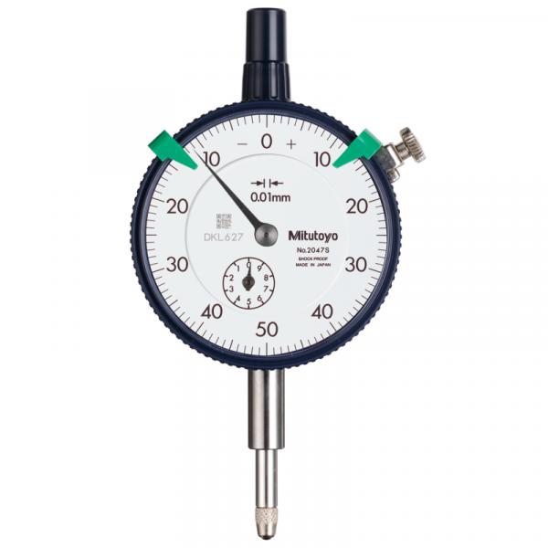 Mitutoyo 2047S (0.01mm) Lug Back Graduation Dial Indicator 10mm