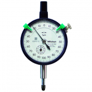 Mitutoyo 2113S-10 (0.001mm) Lug Back Dial Indicator Shockproof 2mm