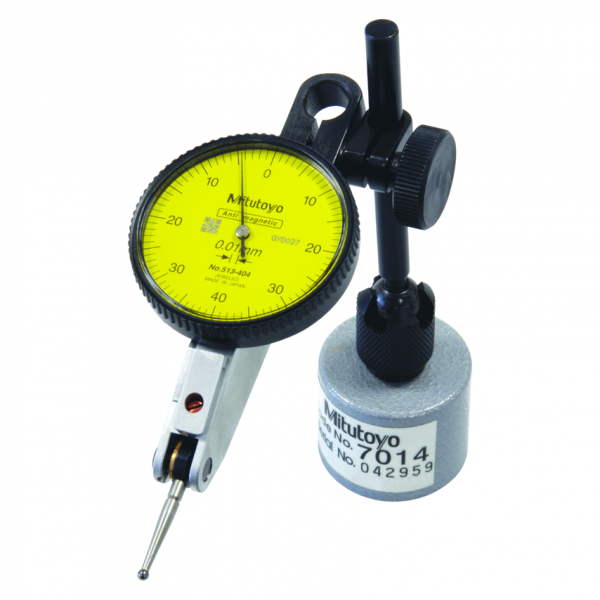 Mitutoyo 513-908-10E (0.01mm) Horizontal Type Dial Test Indicator with Magnetic Stand 0.8mm