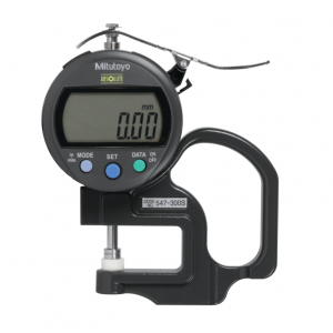 "Mitutoyo 547-300S (0.01mm/0.0005"") ABSOLUTE Digimatic Thickness Gauge 0-10mm (0-0.4"")"
