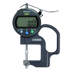 "Mitutoyo 547-312S (0.01mm/0.0005"") ABSOLUTE Digimatic Thickness Gauge Lens Thickness 0-10mm (0-0.4"")"