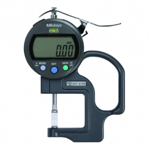 "Mitutoyo 547-316S (0.01mm/0.0005"") ABSOLUTE Digimatic Groove Depth Thickness Gauge 0-10mm (0-0.4"")"