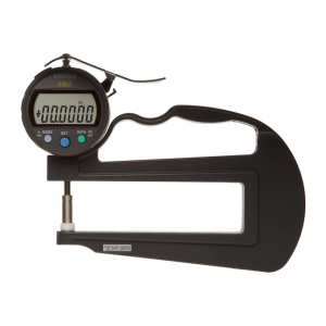 "Mitutoyo 547-320S (0.01mm/0.0005"") ABSOLUTE Digimatic Deep Throat Thickness Gauge 0-10mm (0-0.4"")"