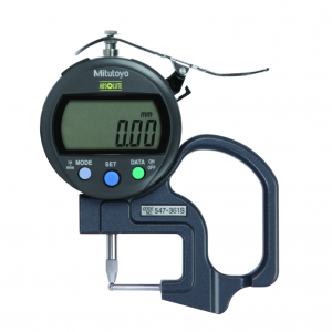 "Mitutoyo 547-361S (0.01mm/0.0005"") ABSOLUTE Digimatic Thickness Gauge 0-10mm (0-0.4"")"