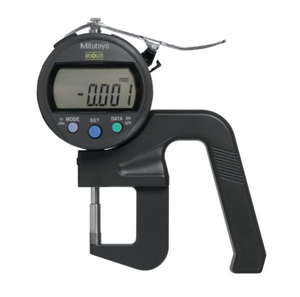 """Mitutoyo 547-400S (0.001mm/0.00005"""") ABSOLUTE Digimatic Thickness Gauge 0-12mm (0-0.5"""")"""