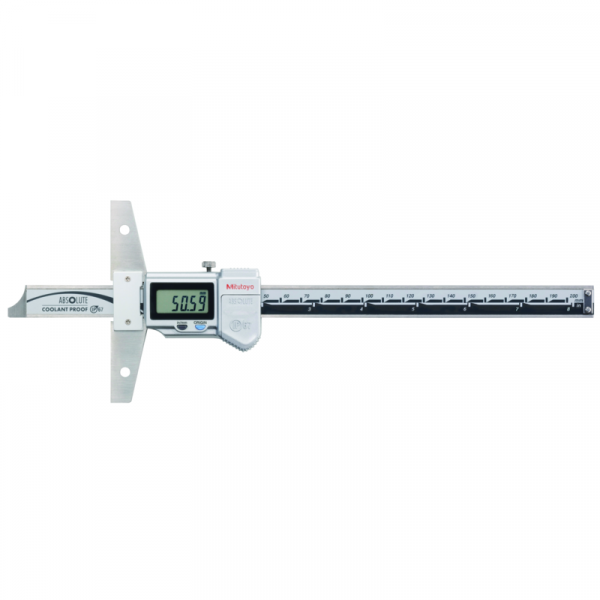 "Mitutoyo 571-262-20 ABSOLUTE Digimatic IP67 Depth Gauge 0-200mm (0-8"")"