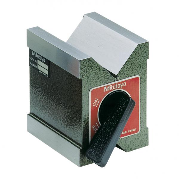 Mitutoyo 181-246 Magnetic V-Blocks 1000N