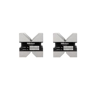 Mitutoyo 181-901-10 Hardened Steel V-Blocks with Clamp