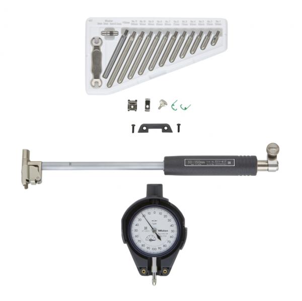 Mitutoyo 511-437 Blind Hole Bore Gauge 2 Point Inside Measurement Instrument 50-150mm