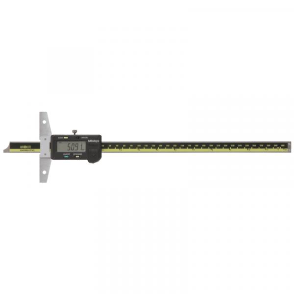 """Mitutoyo 571-213-10 ABSOLUTE Digimatic Depth Gauge 0-300mm (0-12"""")"""
