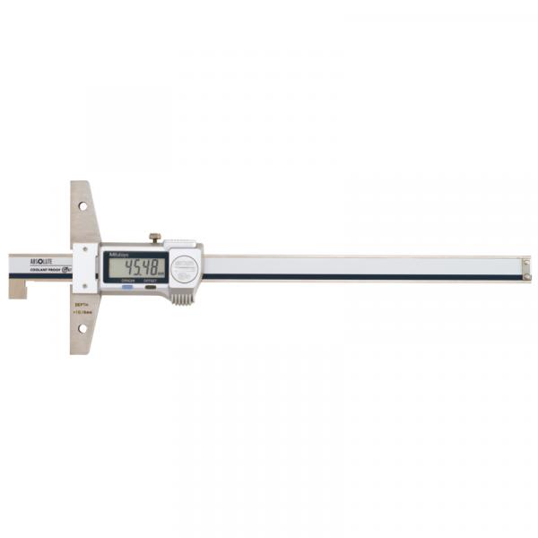 """Mitutoyo 571-264-20 ABSOLUTE Digimatic Proof Hook End IP67 Depth Gauge 10-160mm (0.4-6.4"""")"""