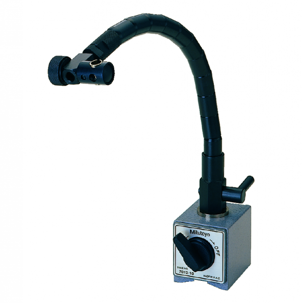 Mitutoyo 7012-10 Magnetic Stand with Flexible Arm 250mm Working Radius