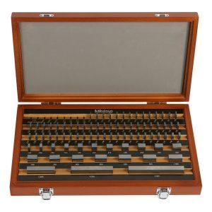 Mitutoyo 516-942-111 103 Piece Grade 0 Steel Gauge Block Set