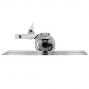 Moore & Wright MW500-01 Universal Bevel Protractor 360°