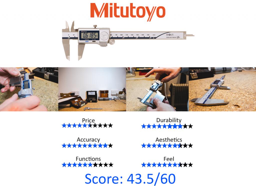 9 Best Digital Calipers: 5. Mitutoyo 500-752-20 Absolute Digimatic IP67 Caliper
