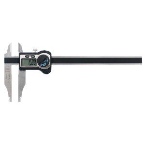 Tesa Twin-Cal IP67 Digital Workshop Caliper Rounded Measuring Faces Knife-Edge Jaws