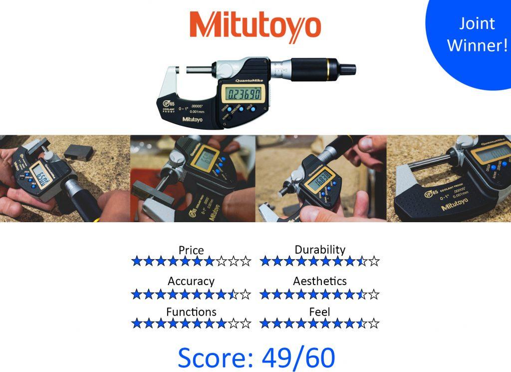 DML, 9 Best Digital Micrometers - Mitutoyo 293-185-30 Digimatic QuantuMike Micrometer