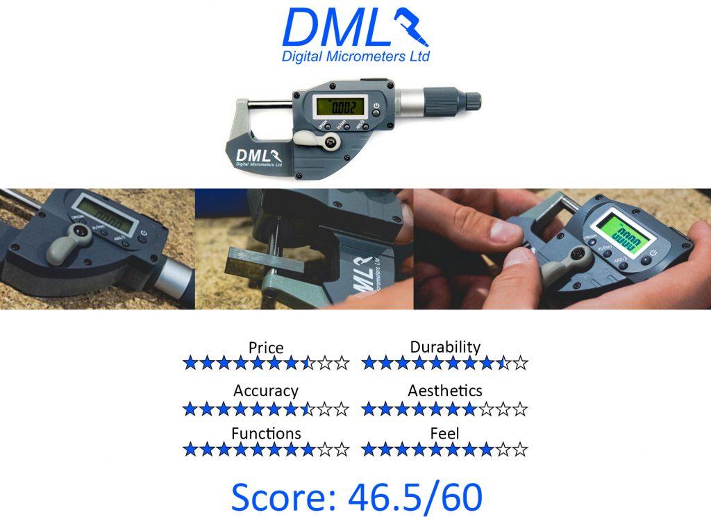 DML, 9 Best Digital Micrometers - DML DM5025 Snap Micrometer