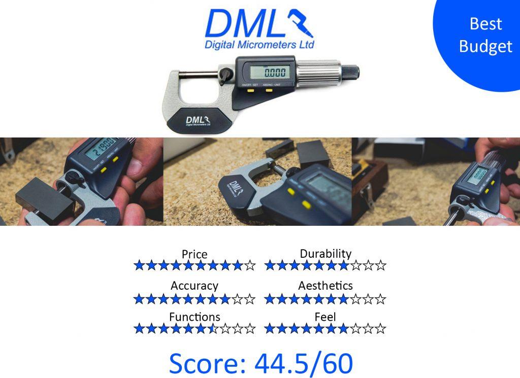 DML, 9 Best Digital Micrometers -DML DM3025 IP54 Digital Micrometer