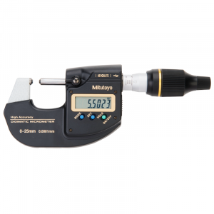 Mitutoyo 293-100-10 Digimatic High-Accuracy Metric Micrometer 0-25mm