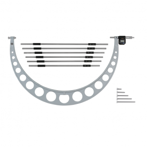"Mitutoyo 340-722 IP65 Digital Micrometer Interchangeable Anvil 600-750mm (24-30"")"