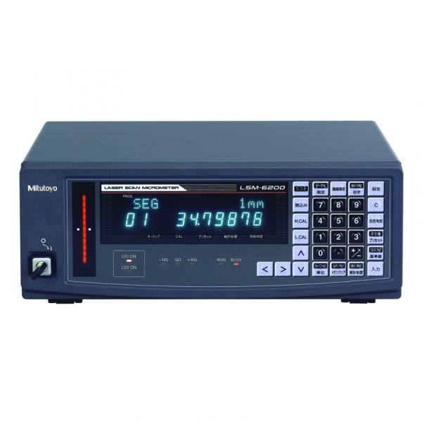 Mitutoyo 544-072E Laser Scan Micrometer LSM-6200 Laser Display (Metric/Inch)