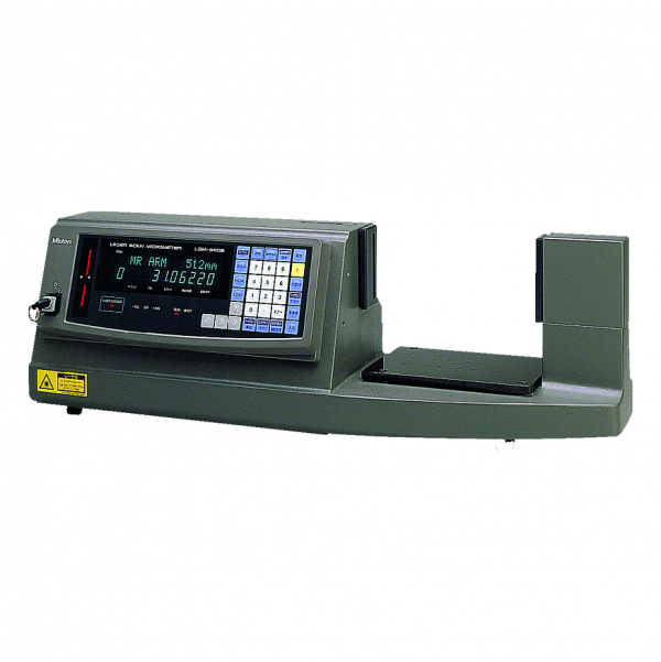 Mitutoyo 544-116E Laser Scan Micrometer LSM-9506 Bench-top Type with Display Unit