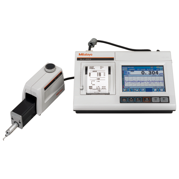 """Mitutoyo 178-581-11E Surftest SJ-411 Surface Roughness Tester [inch/mm] """"R2µm; 0.75mN; X=25mm"""""""