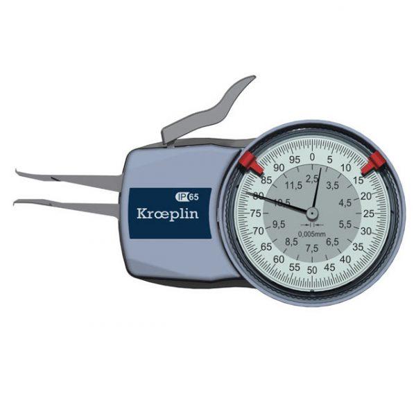 Kroeplin H102 Internal Metric Caliper 2.5-12.5mm
