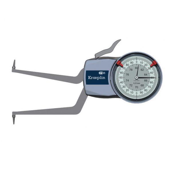 Kroeplin H260 Internal Metric Caliper 60-80mm